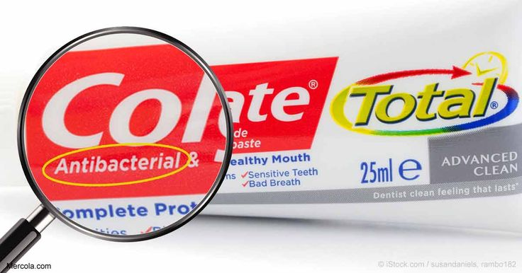 The FDA has banned an antibacterial chemical in hand soap that Colgate continues to use in its toothpaste; it has been linked to endocrine disruption. http://articles.mercola.com/sites/articles/archive/2017/06/14/triclosan-toothpaste-hand-soap.aspx?utm_source=dnl&utm_medium=email&utm_content=art3&utm_campaign=20170614Z3&et_cid=DM147609&et_rid=2042862461