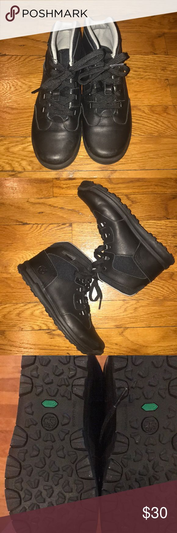 Boys Timberland boots Boys timberland boots. Worn once!! Timberland Shoes Boots