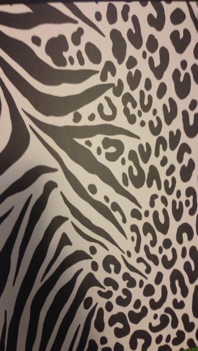 Cute iphone animal print wallpaper random stuff for Zebra print wallpaper