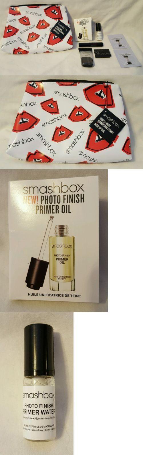 Foundation Primer: Smashbox Photo Finish Foundation Primer And Makeup Bag + Bonuses - New BUY IT NOW ONLY: $30.0