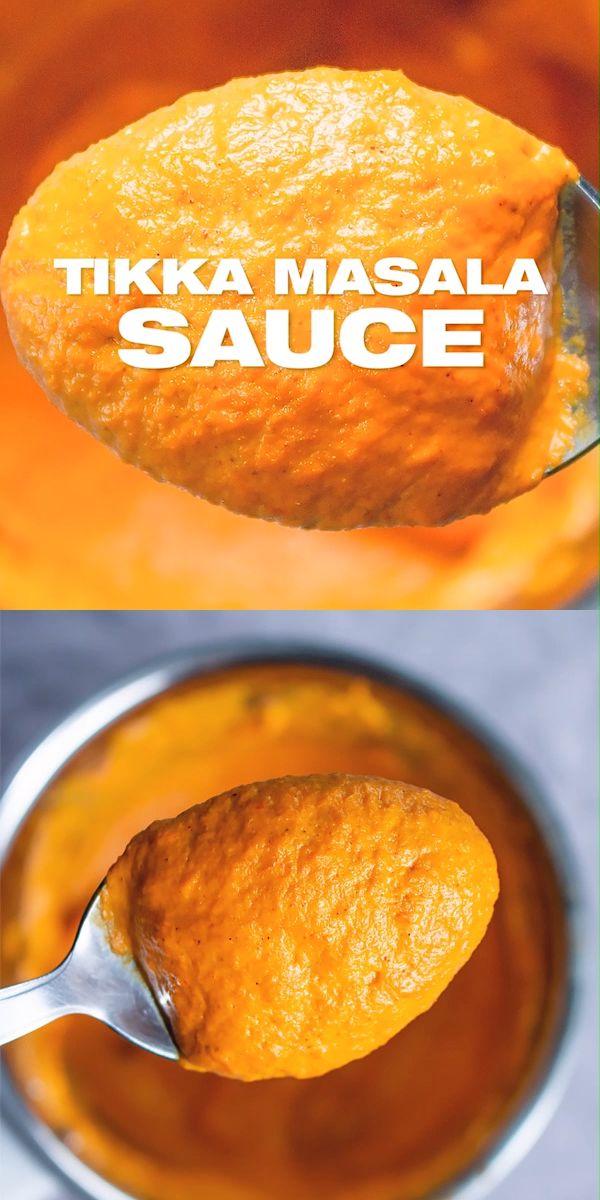Tikka Masala Sauce Recipe
