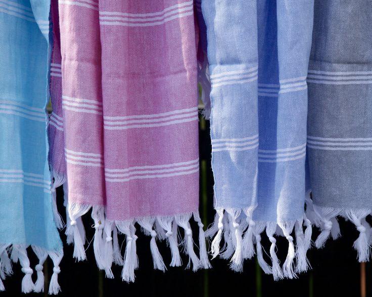 Organic handwoven hamam towels!