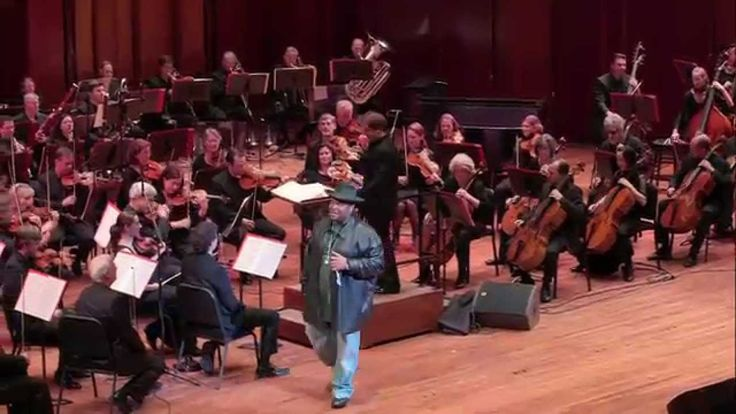"""My town is better than yours. """"Baby Got Back:"""" Sir Mix-A-Lot with the Seattle Symphony"""