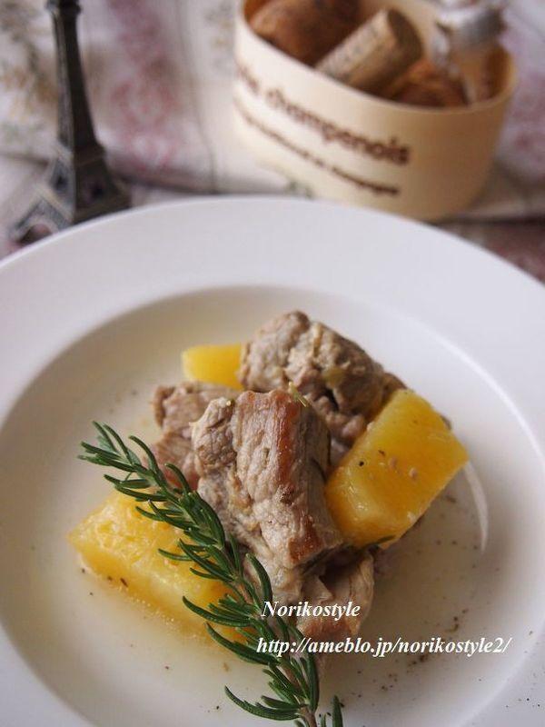 豚肉とパイナップルのローズマリー煮 by 紀子 | レシピサイト「Nadia ...