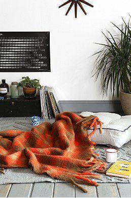 4040 Locust Mohair Blanket