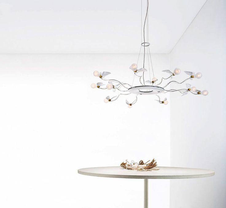 Ingo Maurer, lighting design at its best, Birdie's Ring lamp, Ingo Maurer und Team, 2013