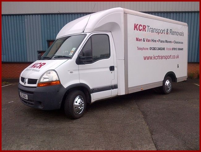 Removals in Burton upon Trent, Small and part home and office removals company based in Swadlincote Derbyshire