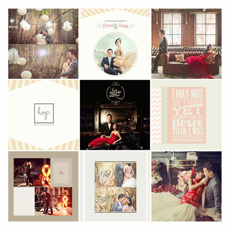 Riswan & Yenny Prewedding Photobook Preview, edit & design by Wenny Lee, photo by HOP
