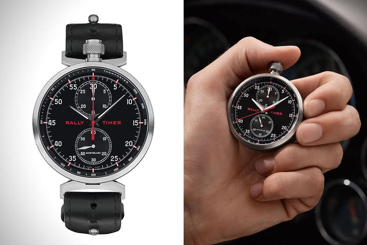 Timewalker Rally Timer Watch By Montblanc 1
