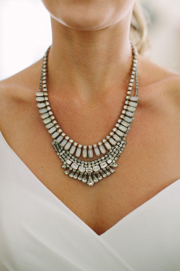 gorgeous statement necklace | Julia Wade #wedding