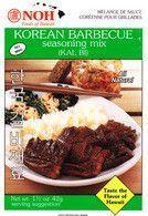 Korean Barbeque Seasoning Mix