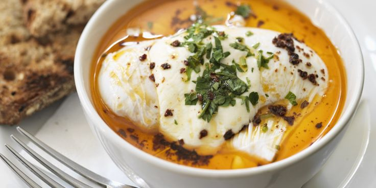 Turkish Eggs Recipe - Great British Chefs