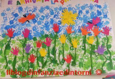 il blog d'infanzia e dintorni: Mani di primavera