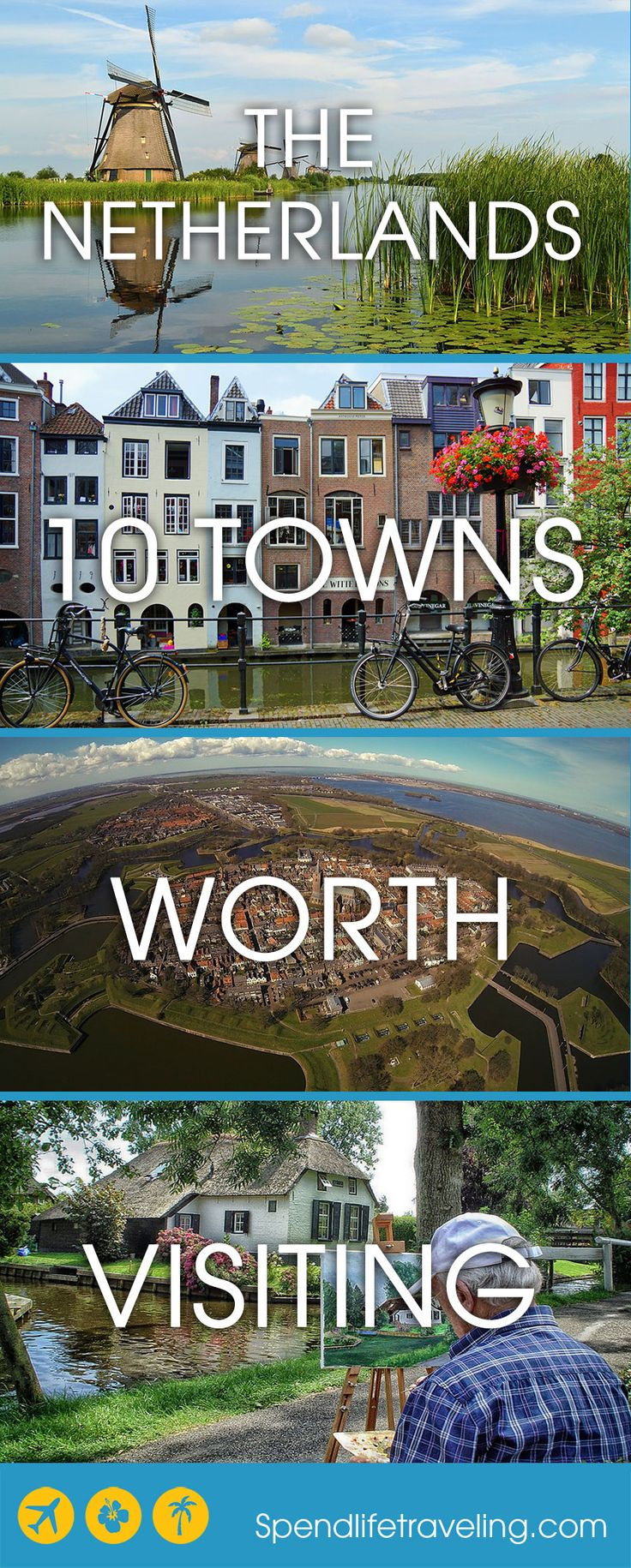 10 Towns worth visiting in the Netherlands, besides Amsterdam