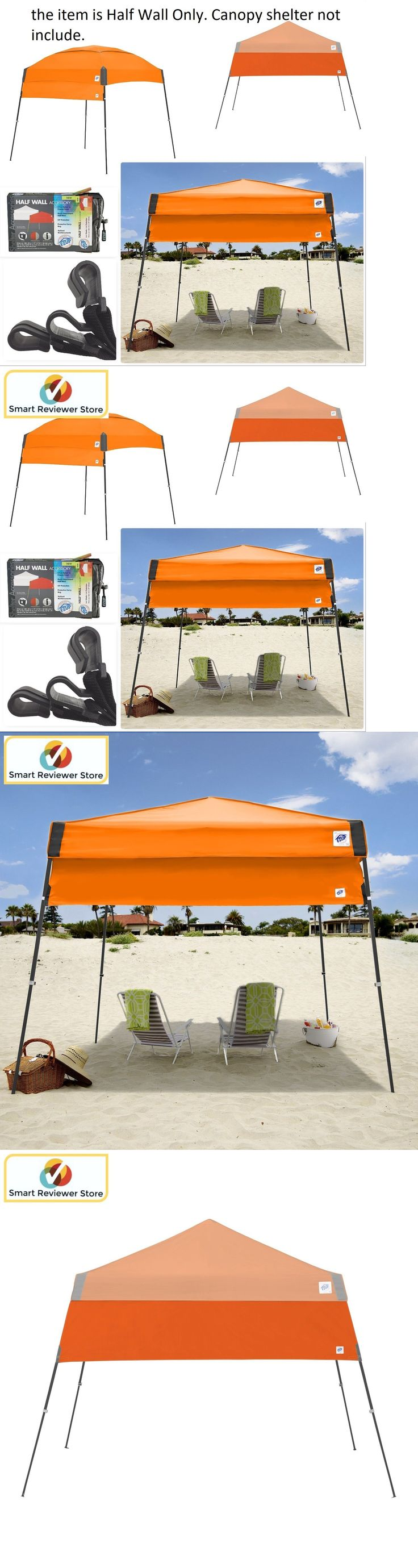 Tent and Canopy Accessories 36120: Instant Canopy Tent 10X10 Half Wall Outdoor Pop Up Gazebo Patio Beach Sun Shade -> BUY IT NOW ONLY: $70.33 on eBay!