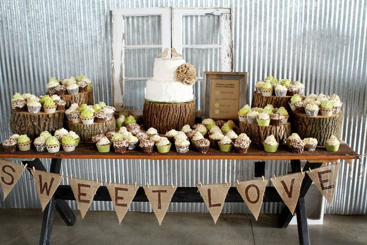 wedding cake table decorations rustic like the banner for the cookie table wedding ideas 26184