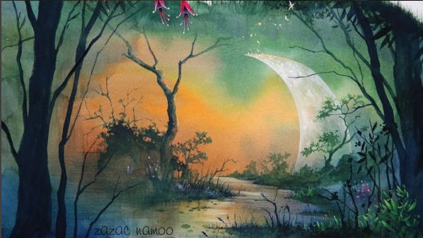 Fabulous Painting Works by Korean Artist Sung Ho Lee - ZAZAC NAMOO