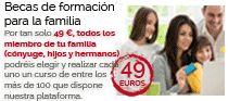 Las Becas de Formación para la Familia van dirigidas a todas las familias de España e Hispanoamérica. Pueden solicitar la adhesión a este Programa cualquiera de los miembros de la Familia, mayores de edad. La solicitud a estas becas para un menor de edad, miembro de la familia, deberá ser solicitada por el padre, madre o tutor legal. http://www.formacionsinbarreras.com/beca-a-la-formacion.php