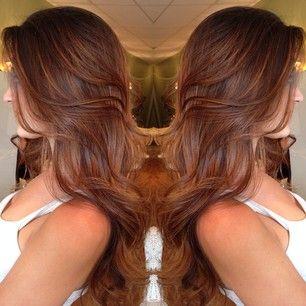 25 unique reddish brown hair color ideas on pinterest mahogany beautiful healthy hair reddish brown urmus Choice Image