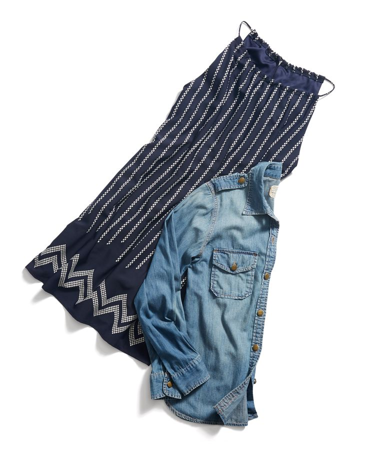 Stitch Fix Spring Resort Wear: Shift Dress and Lightweight Chambray