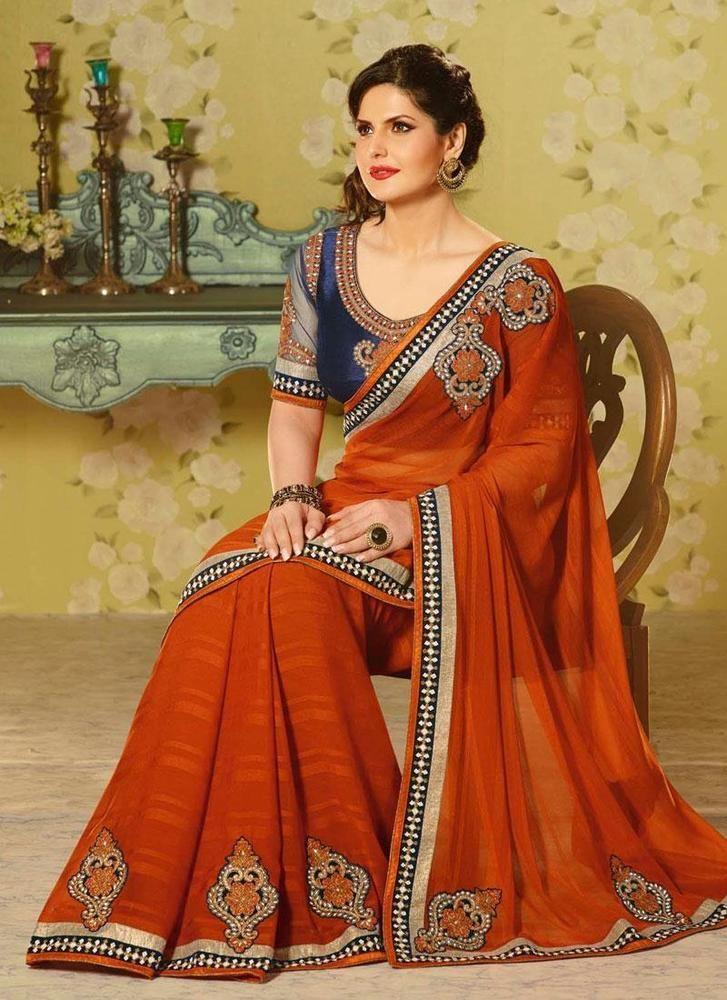 Buy 1 Get 1 Free Indian Bollywood Sari Partywear Ethnic Designer Dress Pakistani #TanishiFashion