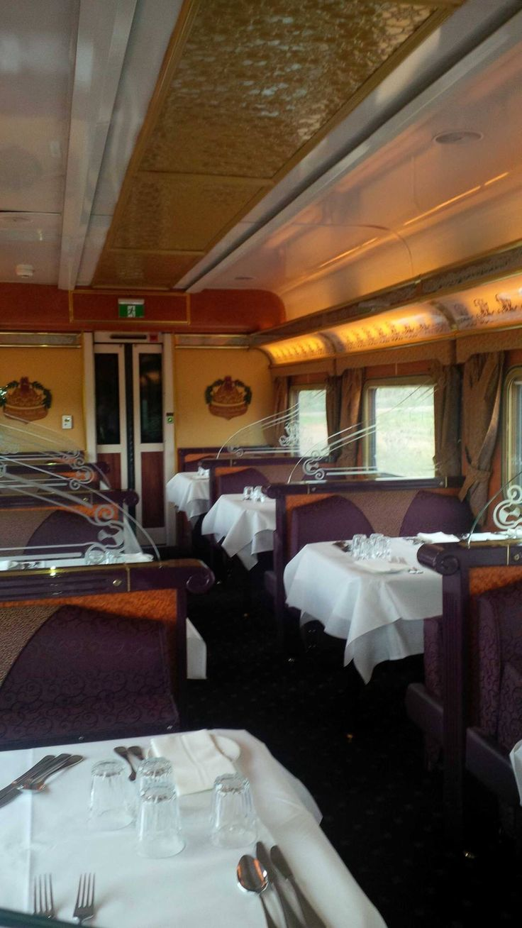 On board dining