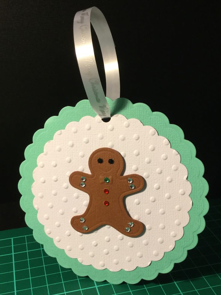 Christmas tree ornament gingerbread man