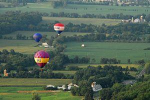 Hot Air Balloon Festival NJ at the Warren County Farmers' Fair