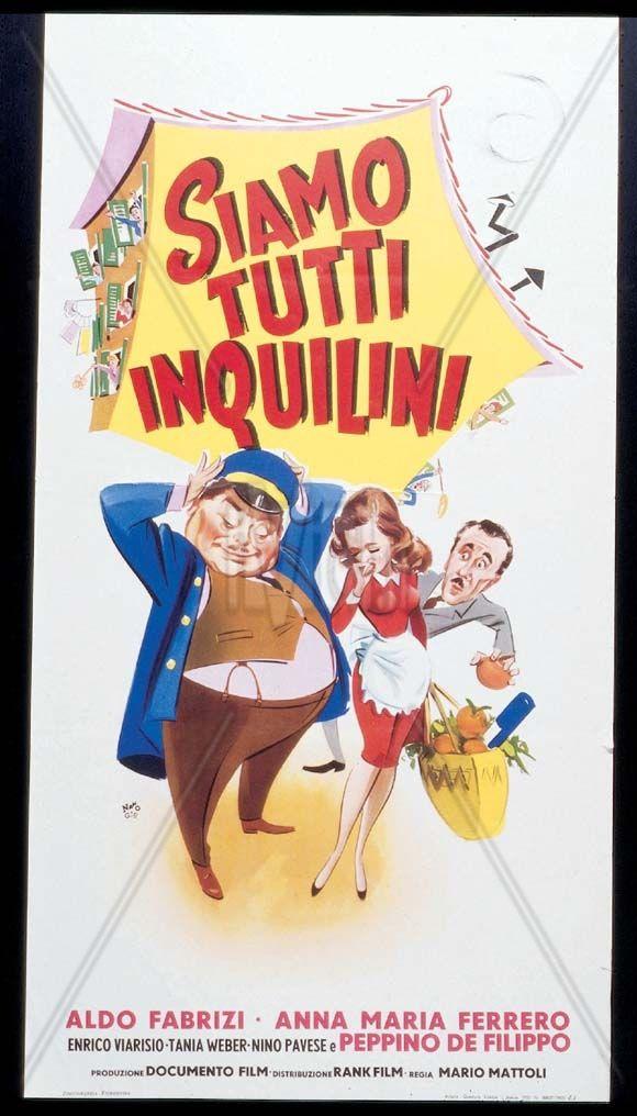 Siamo tutti inquilini, Italia 1953, di Mario Mattòli