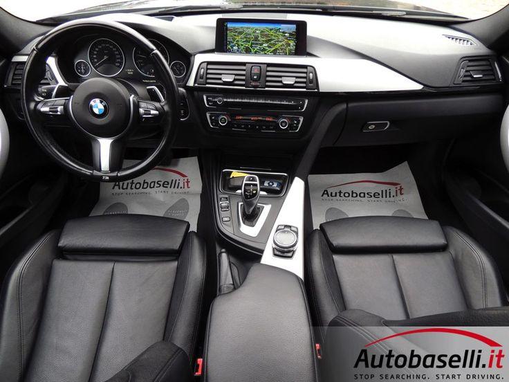 BMW 330DA XDRIVE TOURING M-SPORT 258CV Cambio automatico + Pad + Navigatore touchpad + Tetto panoramico apribile + Interni sportivi in pelle + Fari Bi-xeno + Head up display + Keyless'go + Bluetooth + Comandi vocali + Portellone posteriore elett + Cerchi in lega 18 msport + Park distance control ant/post + Sedili risc + Clima bi-zona + High beam assistant + del 2014