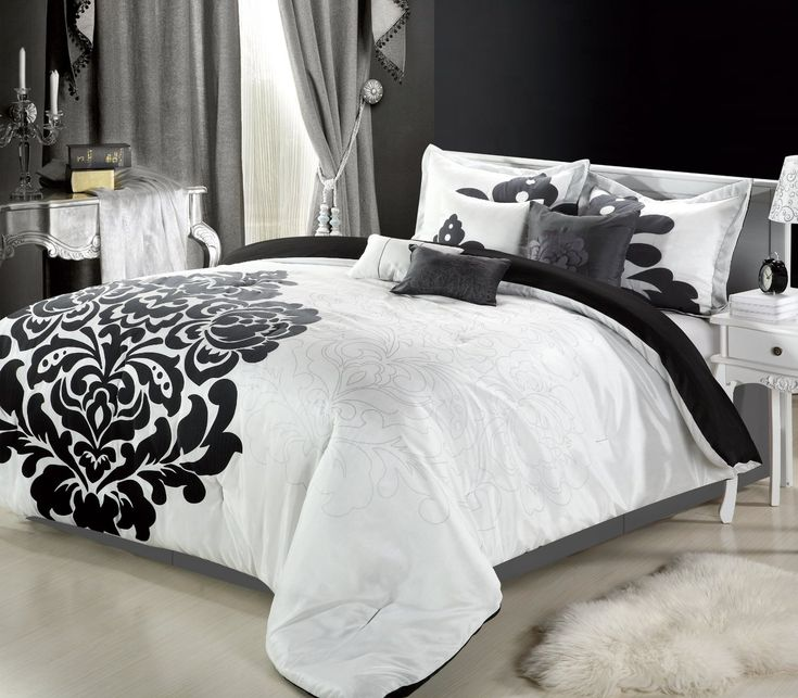Most Beautiful Black and White Bedding Sets - The Comfortables