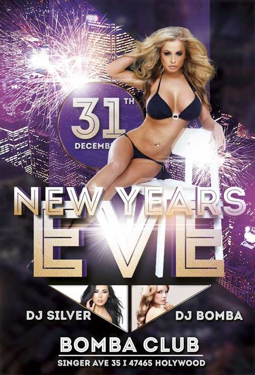 7 best Proyectos que intentar images on Pinterest Flyer design - free new years eve flyer template