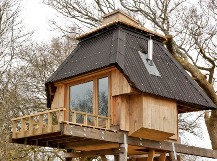 71 best tiny houses and cabins images on pinterest for Tiny house on stilts
