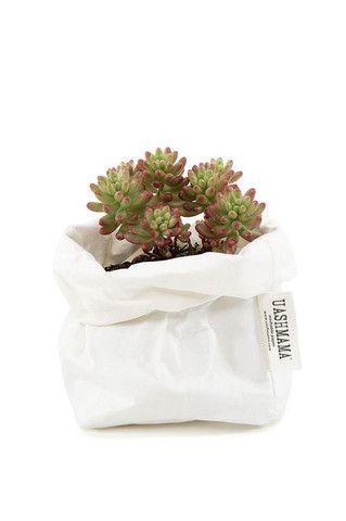 Uashmama Paper Bag - White - Medium by Koromiko