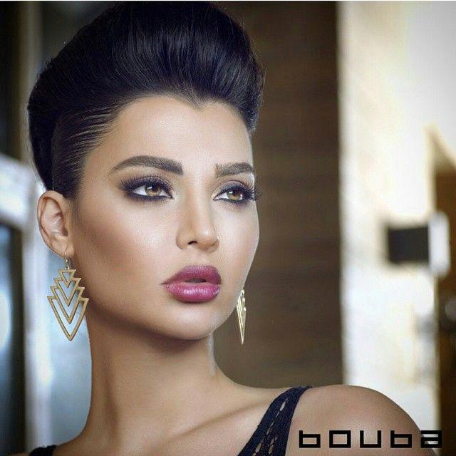 Lebanese beauty... Lebanese makeup...