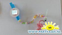 Speen ketting - Geboorte traktaties, Traktatie snoep, Traktaties - En nog veel meer traktaties, spelletjes, uitnodigingen en versieringen voor je verjaardag of kinderfeest op Party-Kids.nl
