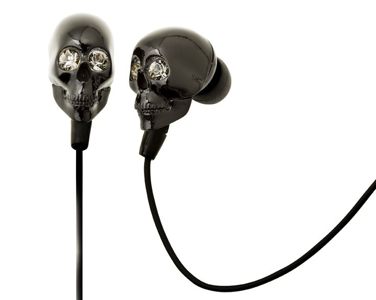 skull earphones compatible with iphone,blackberry,samsung and devices with 3,5mm plug.http://www.e-boutique.gr/akoustika-akoustika-mikrofono-mafri-nekrokefali-p-60.html