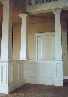 Columns colors and craftsman on pinterest for Craftsman style columns