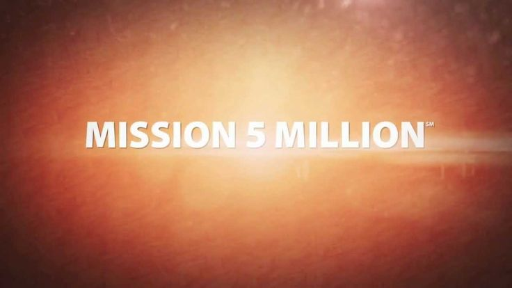 Check out Mission 5 Million video to find out how you can nourish YOURSELF and a CHILD suffering from malnutrition at the same time.