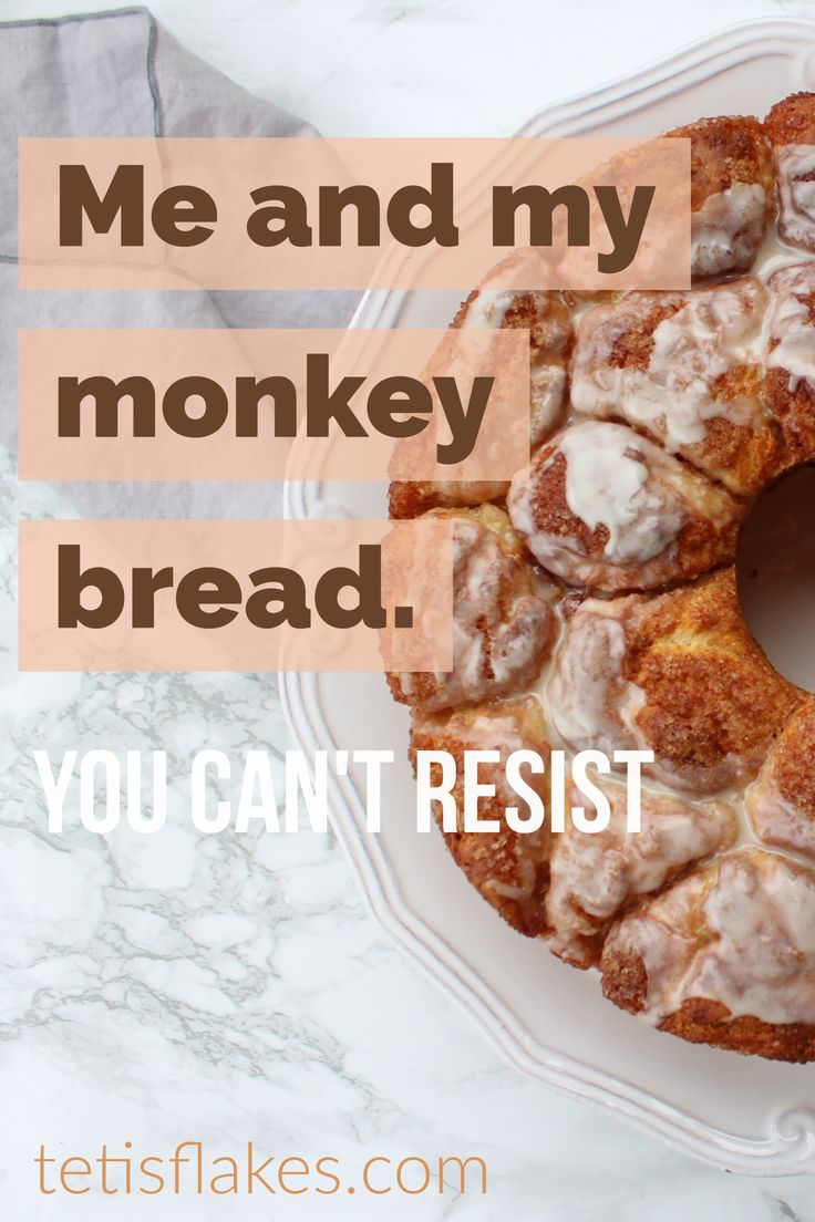 Saturday mornings are for baking. I had on my mind to bake some cinnamon rolls but I decided to try monkey bread instead.  #monkeybread #bread #baking #foodblog #joyofbaking #cinnamon