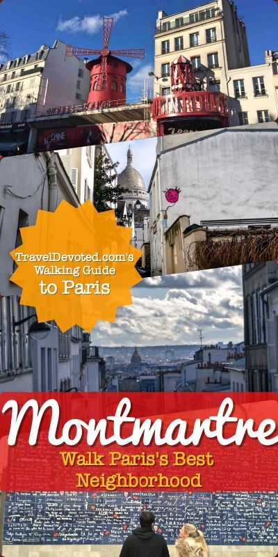 Montmartre, Paris is the best neighborhood and place to stay in Paris. This is a walking guide, that will lead you on a tour of Montmartre's best sights. This Paris travel guide will help you have an awesome day in Montmartre!