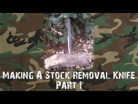 145 best weapons images on pinterest guns firearms and gun part one of making a stock removal knife from an old file malvernweather Gallery