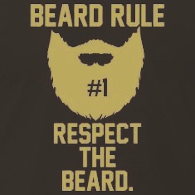 The first and only rule. Visit www.HighWestBeard.com. Your beard will thank you. #beard #beard #beards