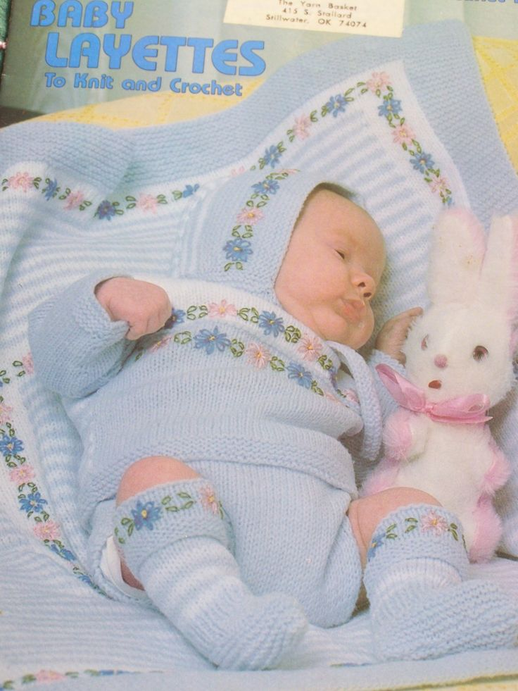 The 208 best Baby Patterns images on Pinterest | Baby knitting, Baby ...