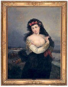 Madame de Pompadour (Maja by Eugenio Lucas Velázquez (1817 - 1870))
