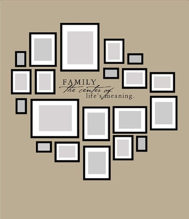 ...Family photo layout
