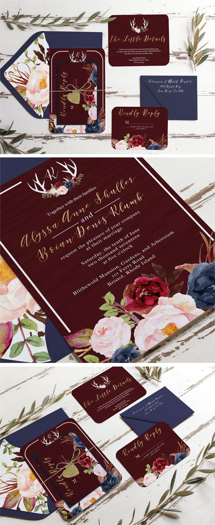 2164 Best Tarjetas Matrimonio Images On Pinterest Invitations