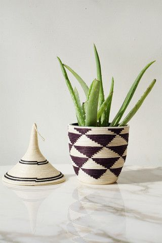 Peace Basket - Triangles - Indego Africa