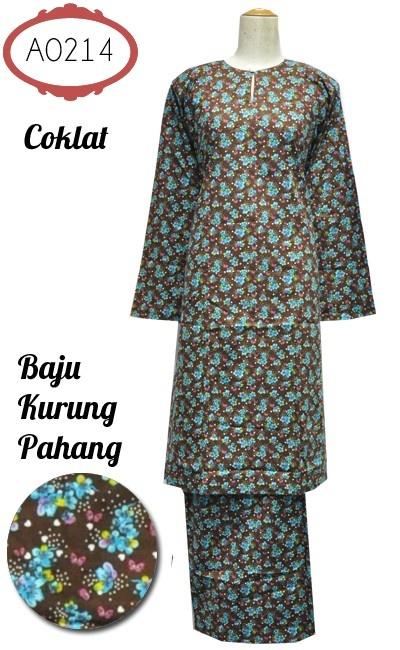 Baju Kurung Pahang - English Cotton ...  Baju kurung Pahang bercorak bunga kecil diperbuat daripada kain Engish cotton. Kain susun tepi, bahagian pinggang berzip dan bergetah. Ada saiz XS sehingga 3XL.  Harga jual: RM100.00 FREE POSLAJU ke seluruh Malaysia ... http://kedaibajukurungonline.blogspot.com/