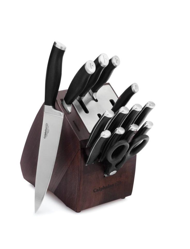 Calphalon Contemporary™ SharpIN™ 15-pc. Cutlery Set